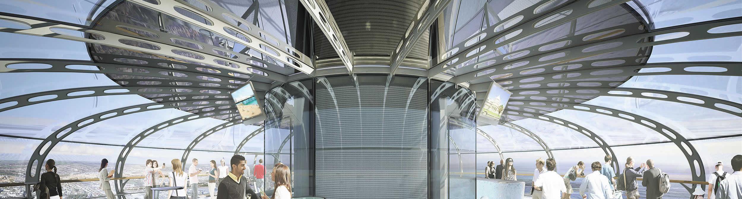 Architectural Visualisation i360 pod