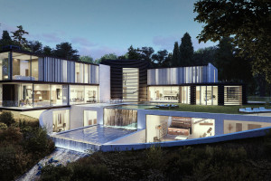 Architectural Visualisation house
