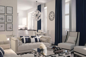 Architectural Visualisation living room Jersey