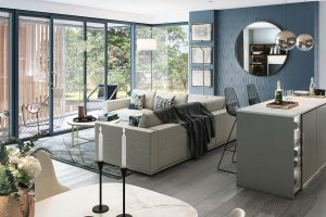 F10 architectural CGI living room Hove
