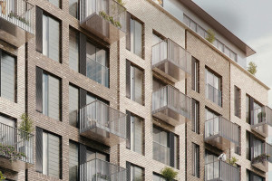 Architectural Visualisation Mixed use exterior