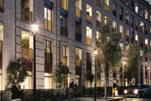 Architectural Visualisation residential exterior night