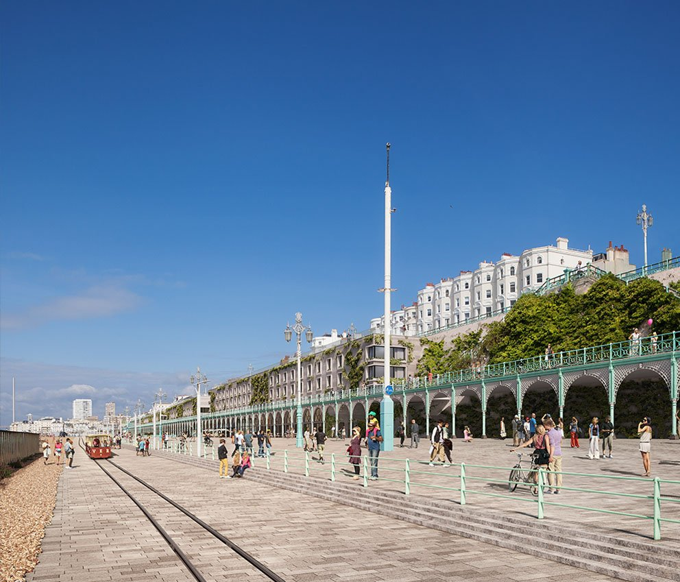 Madeira Terraces Exterior Architectural Visualisation by F10 Studios